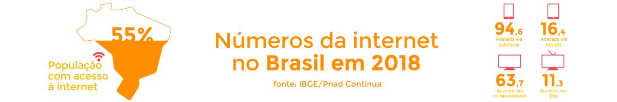 dados da internet no brasil