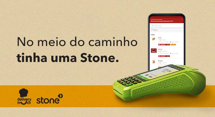 Stone investe na Delivery Much