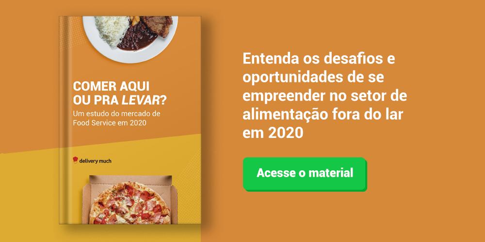 Números do food service no Brasil - Delivery Much Blog