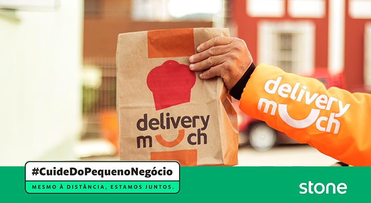 Para ajudar parceiros, Delivery Much e Stone zeram taxas de delivery em todo o Brasil