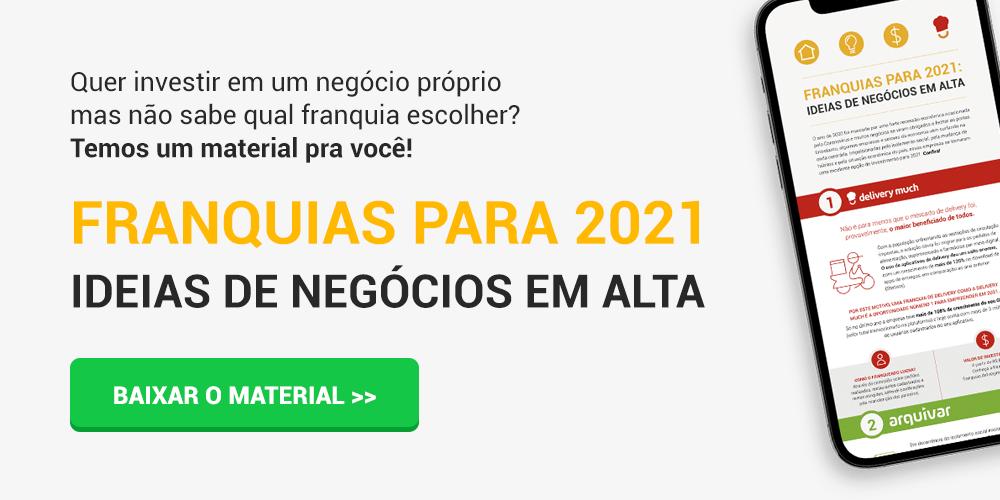 Franquias para 2021 - Ideias de negócios em alta
